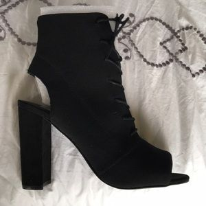 "Steve Madden booties ""Capture"""
